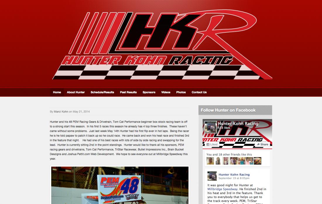 Huner Kohn Racing
