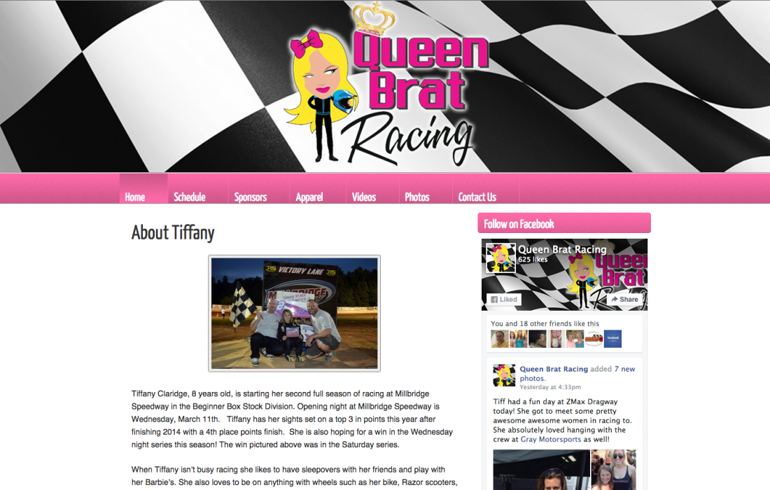 Queen Brat Racing